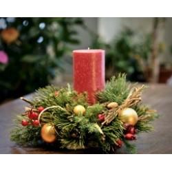 декор новогодний 25 см