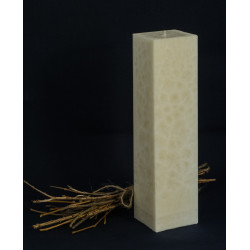 Pillar candle square h29 d...